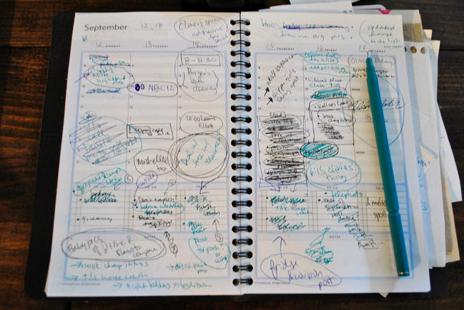 disorganized planner
