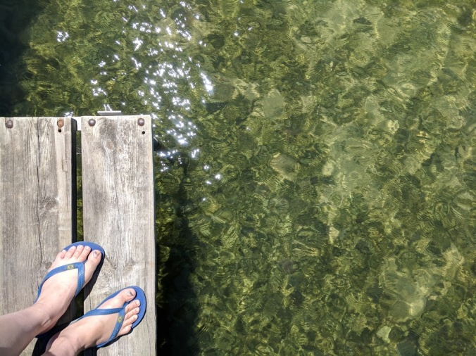 deck by water
