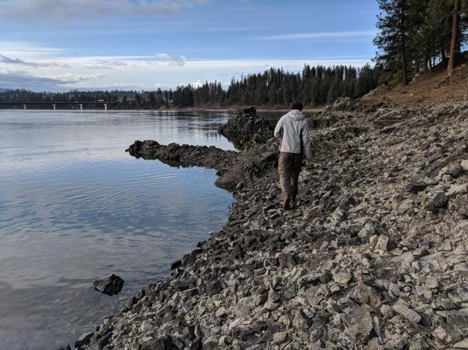 cody walking shore
