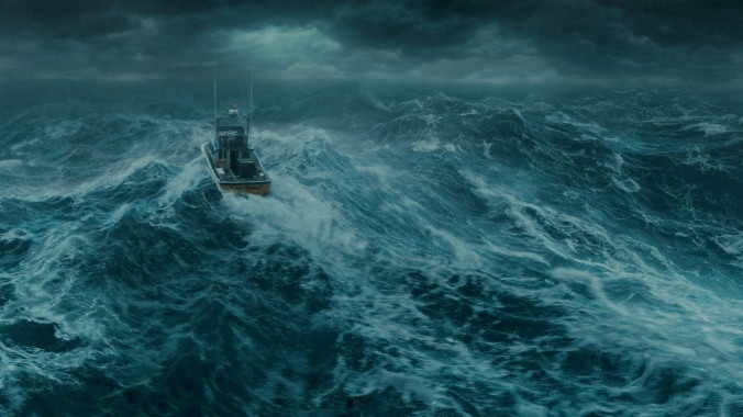 boat storm